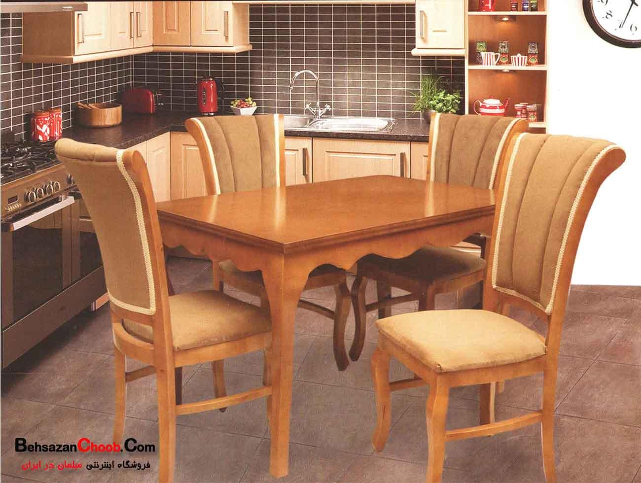 قیمت میز غذاخوری چوبی